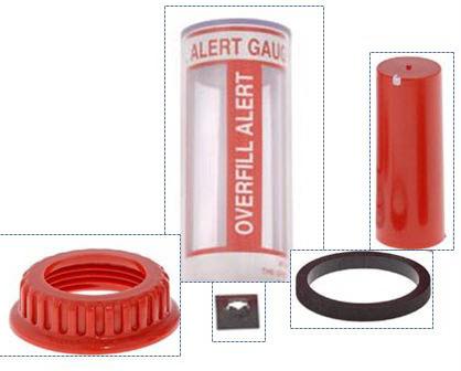 Overfill Gauge Repair Kit